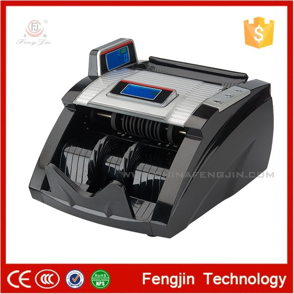 Easy operation WJDFJ08G money counting machine for sale