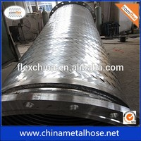 stainless steel 304 corrugated 3 flexible tubing