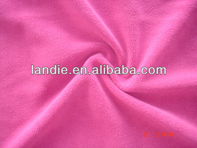 Hot Sale 100 polyester super soft polar fleece fabric for blankets tela de polar