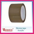 Tan color BOPP film water-based glue acrylic material packing tape