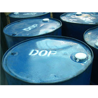 117-81-7 chemical raw material plasticizer and pvc resin di octyl phthalate 99.5% dop