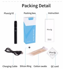 2018 latest HOT products Japan korean market Pluscig V2 electronic cigarette