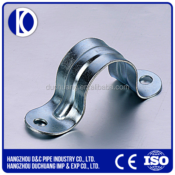 Truck Parts Cast Iron Two Hole Exhaust Pipe Clamp