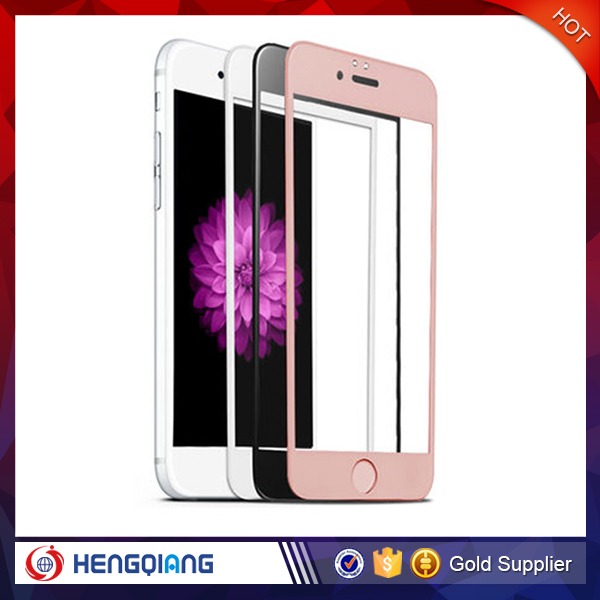 3D Curved 9H Full Screen Cover Tempered Glass Screen Protector for iPhone 6, Curved edge Glass for iPhone 6