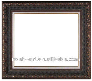 antique wooden frame oil painting
