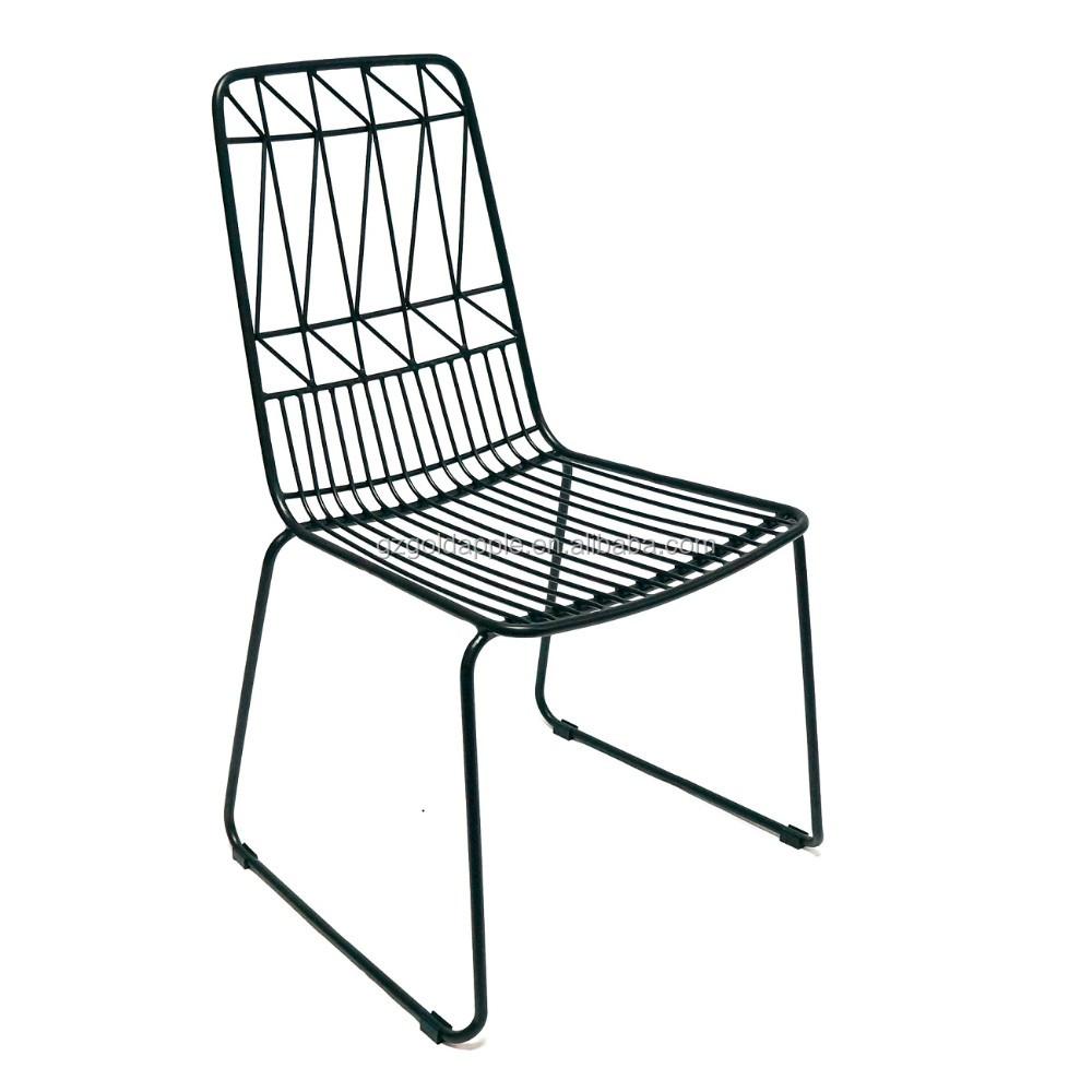 Popular Metal Replica Bertoia Wire Chair For Sale Outdoor