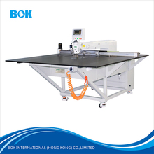 CNC garment apparel template automatic industrial sewing machine for jacket/shirt/down coat