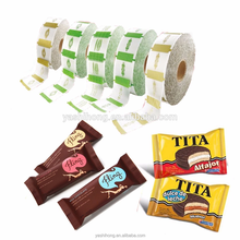 candy food packaging plastic roll film /chocolate bar Printing Film/ sachet packaging film