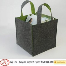 New products 2016 Collapsible Household felt Magazine storage basket