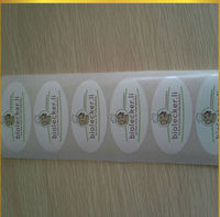 2013 popular paper sticker with customized logo