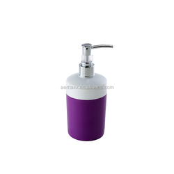 plastic black pump dispenser shampoo bottle
