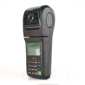 Handheld Mobile Phone Top Up Printer Bus Ticket Pos Machine with Bus Ticketing System