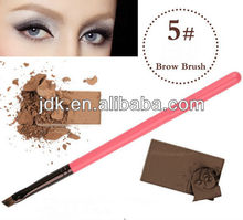 Synthetic Hair Angled Eye Brow Brush JDK-E7008