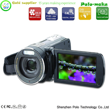 New 1080P Digital Video Camcorder Full HD 16 MP 8x Digital Zoom DV Camera Kit Tonsee Filmadora Digital Frete gratis