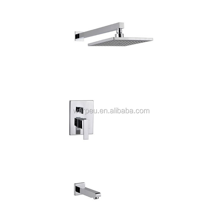 Hot Style Wall Shower Arm Jakarta Concealed Bath Shower Set