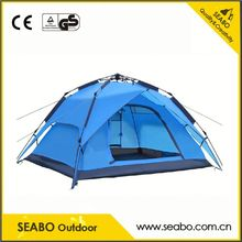 factory good quality waterproof camping tube tent with low price