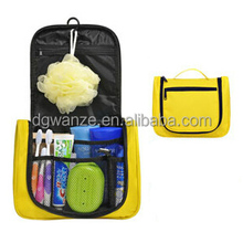 2017 new design hang up cosmetics bag high-quality polyester trolley car trunk organizer