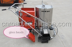 low price hand push hot melt road paint marking machine for traffic lines