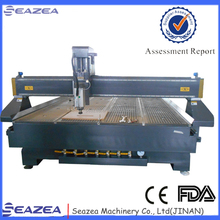 Jinan big working table lower price higher precision 3d cnc woodworking router 2040