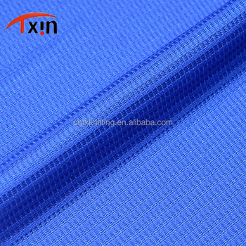 winter sports fabric glitter blue color square shaped polyester fabric for toy and garment