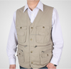 OEM cheap man fishing vest multi vest