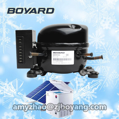 hot sales! boyard r134a solar power 12v 24v dc fridge <strong>compressor</strong> replace bd35f for portable solar mini fridge fridge freezer