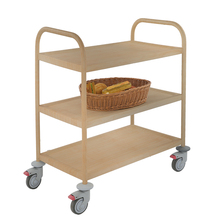 Stainless Steel Kitchen Food Tray Dish Hotel Service Trolleys Cart