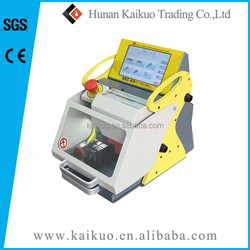 Locksmith supplies! smart auto key cutting machine fully automatic key cutting machine sec-e9 made in China