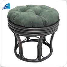 Outdoor all weather rattan saucer chair