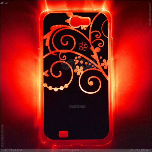 Fantastic design galaxy note 2 LED case for Samsung S4 s3 P-SAMN7100HC004