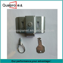 Different Sizes White Zinc Plated Steel Slam Lock OP7907