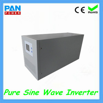 48VDC 1500W 2000W 3000W Pure Sine Wave Solar Power Inverter 120V For Solar System