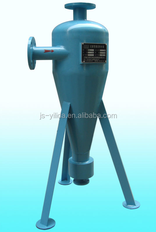 Cyclone sand filter (type II) in water supplying