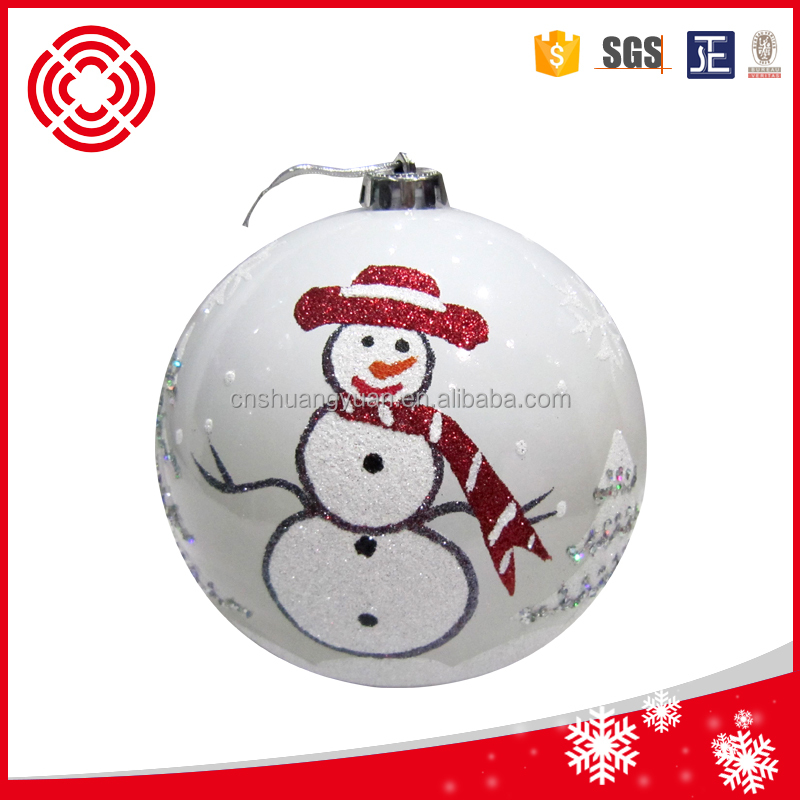 2016 personalized plastic christmas tree ornament buy for Custom christmas tree ornaments