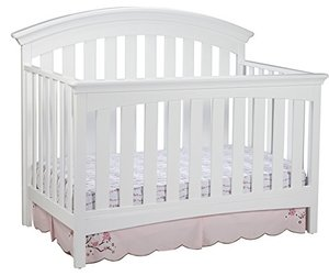 Baby Furniture Wooden Custom Made White Color Wooden Baby Cot Crib Extenders