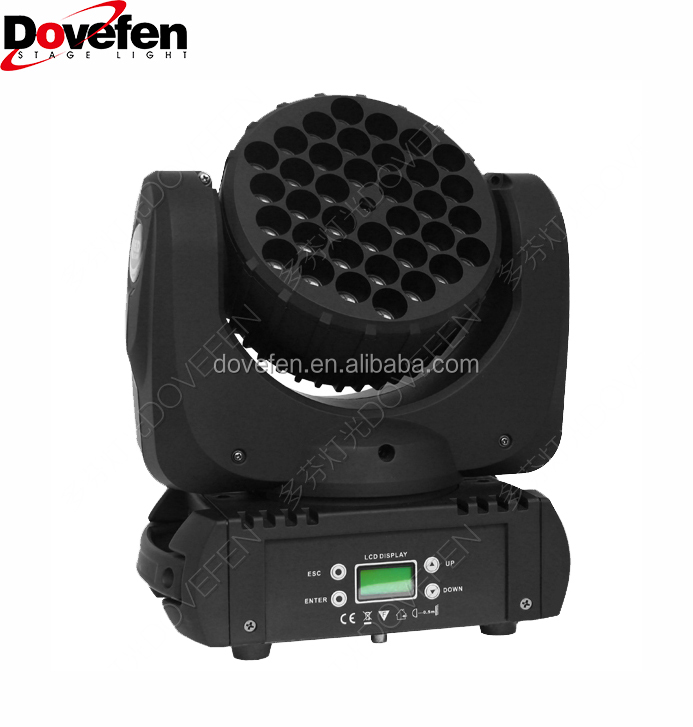 RGBW LED Moving Head Lyre Beam Light 36*3W 4in1
