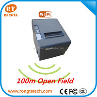 RP80W 80mm wireless POS printer, wifi printer with 250mm/s high speed printing/auto cutter, China thermal printer