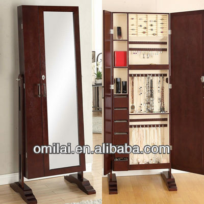 wooden framed cheval mirror,full body free standing dressing mirror,floor fitting mirror