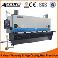 MS8-8X3200 hydraulic guillotine shearing machine for cutting stainless steel