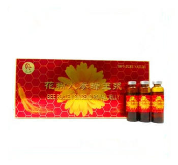 honey product- Bee Pollen Ginseng Royal Jelly beauty care product