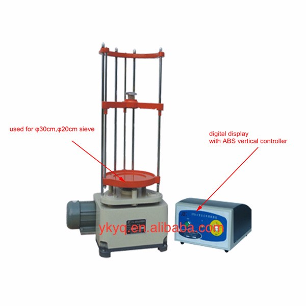 STSJ-3 Aggregate Soil Sieve Vibration Shaker Machine/Laboratory Vibration Test Equipment/ high frequency Vibrating Sieve Shaker