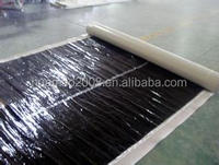 Low price high polymer modified asphalt coiled material for bridge / highway / tunnel