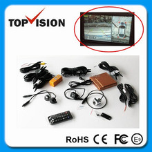 12-24v 360 degree Bird View Car Monitoring System with 4 channel cameras recording