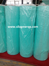 Silage wrap film with good cohesiveness