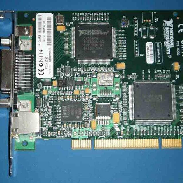 National Instruments NI PCI-8232 778742-01 GPIB controller and gigabit ethernet good condition
