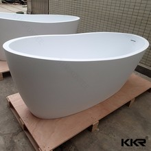 Portable bathtub for adults solid surface stone resin shower tubs