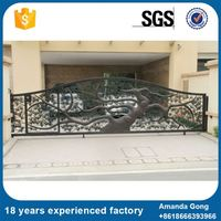 Alibaba High Quality Aluminum Electric Driveway Gate Cost