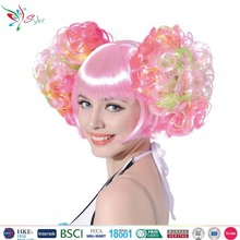 candy girl synthetic fibre cute cosplay party hair wig