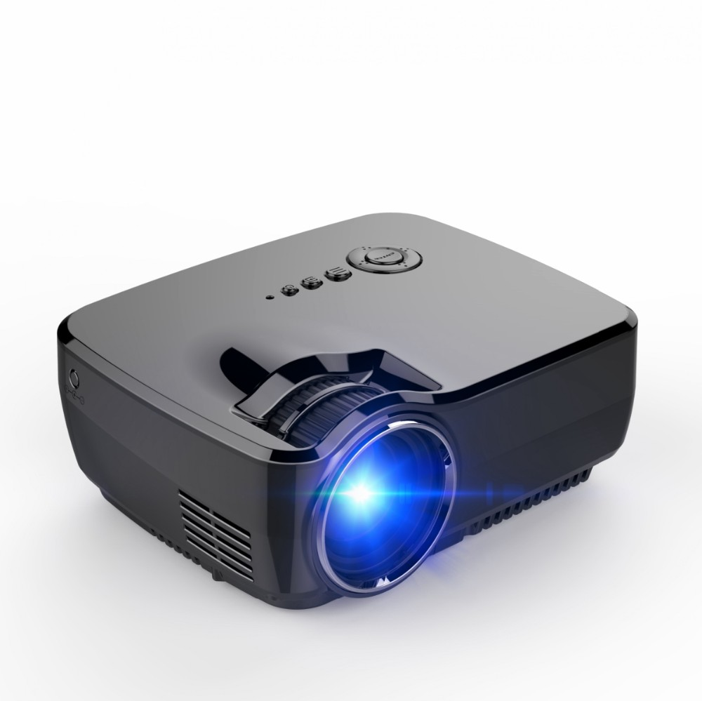 Full hd mini portable projector gp70 home theater mini for High resolution pocket projector