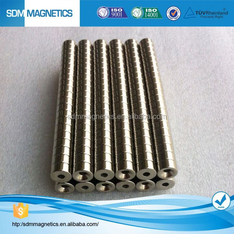 Bonded Rare Earth Neo Ring Permanent Magnet